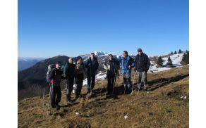 Na začetku grebena proti Ratitovcu