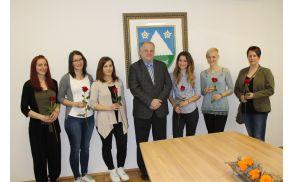Spomladanskega srečanja se je udeležilo šest diplomantk. Foto: Nataša Hvala Ivančič