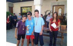 Regijsko tekmovanje v gasilski orientaciji Sela pri Šumberku: mladinci – 1.mesto