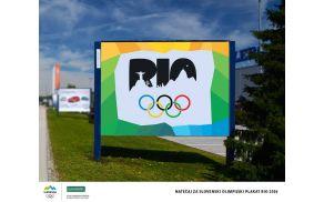 Miha Vidakovič: plakat za Rio 2016