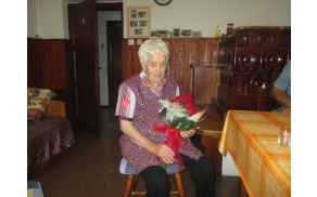 Rozalija Zupančič iz Šentjurija je dopolnila 95 let. FOTO: Majda Zagorc