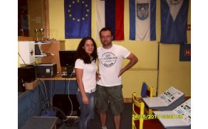 Anja Dobravec, Klemen Mahkovic