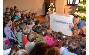 Del spremljevalnega programa sejma je bila vsak dan otroška igrica, ki je privabila veliko otrok.
