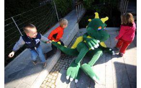 Prvomajski počitniški program za otroke; Foto: Sara Bano, Ljubljanski grad