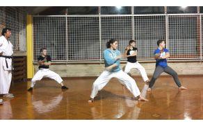 Trening. Foto: Shotokan KK Bohinj