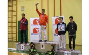 Državni prvak Simon Klemenčič. Foto: KK Bohinj