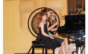 Vrhunec koncerta je bil nastop vseh treh pianistk hkrati.