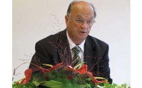 Uvodno besedo na svečani seji je podal župan Beno Podergajs