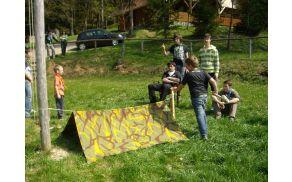 Aktivnosti na taborjenju (Foto: Rod Sotočje Nazarje)