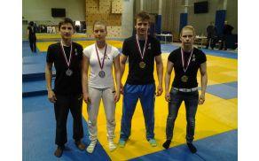 Nosilci medalj z državnega prvenstva v ju-jitsu, Maribor 22.2.2014