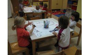 Ustvarjalnost otrok ne pozna meja. Foto: Vrtec Kanal