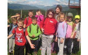 Mladi planinci POŠ Socka
