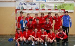 Ekipa OŠ Trebnje, ki je nastopila na polfinalnem turnirju.