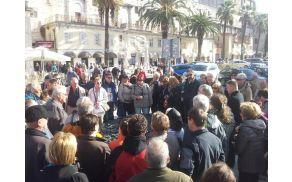 Udeleženci izleta v Splitu