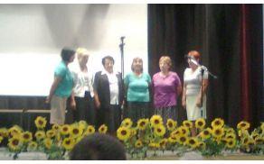 Nastop Ljudskih pevk Društva gospodinj Vitomarci (arhiv)