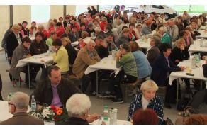 Na srečanje v Vojniku je prišlo preko 200 prostovoljcev s Celjskega..