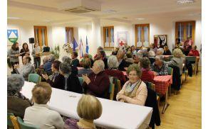 Srečanje starejših občank in občanov občine Kobarid. Foto: Nataša Hvala Ivančič