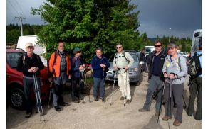To pa je naša pohodniška ekipa (z Mirkom za fotoaparatom, seveda), ki je prehodila vso pot