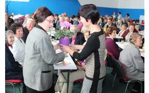 Na srečanju starejših krajanov Nova Cerkev.