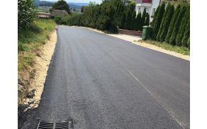 Nov asfalt.