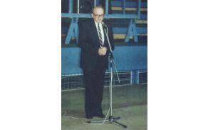 Jurij Šumečnik st., nekdajni predsednik DI Slovenj Gradec