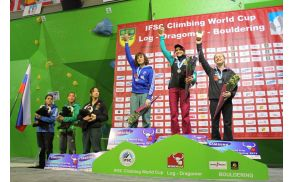 Zmagala je Avstrijka Anna Stöhr, druga je bila Francozinja Melissa Le Neve, tretja pa Britanka Shauna Coxsey.