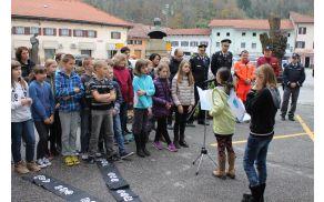 Obeležili smo Svetovni dan spomina na žrtve prometnih nesreč. Foto: Nataša Hvala Ivančič