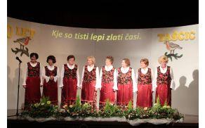Pevska skupina Taščice - gostiteljice