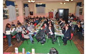 Številčna udeležba Občnega zbora TD Nova Cerkev (foto: Julijo Kovač)