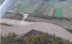 Pogled na uničujočo moć vode, foto: Silvo Sok