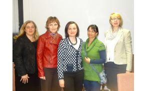 Predstavnice sekcije podjetnic in obrtnic v Mariboru