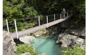 Pohodništvo - Soška pot /  Alpe Adria Trail