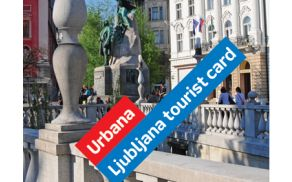 Turistična kartica Ljubljane je bila uvrščena na visoko tretje mesto.