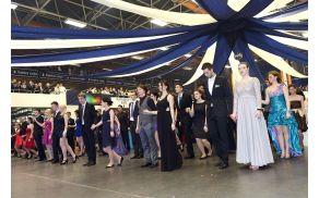 Z maturantskega plesa Šolskega centra Celje