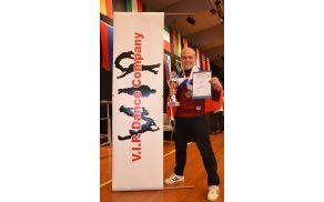 Tomi Činej je svetovni prvak postal že četrtič. (Foto: V.I.P. Dance Company)
