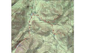 Primer topografske karte