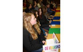 Učenci OŠ Vransko - Tabor na parlamentu
