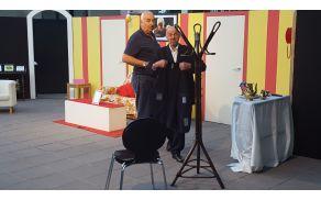 Trenutki življenja v izvedbi Beneškega gledališča. Foto: Nataša Hvala Ivančič