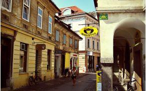 Trubarjeva ulica bo gostila zeleno tržnico. (foto: Juanma, wikipedia)