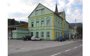Ob prihodu v Frankolovo se že od daleč vidi objekt Gostišča Turist.