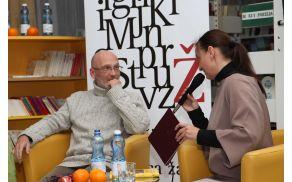 Pogovor Andreje Hutinski s Petrom  Zupancem