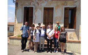 Obisk mednarodne šole ilustracije Sármede v Italiji, julij 2013