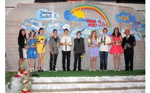 Najuspešnejši devetošolci - županovi nagrajenci