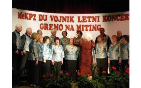 Mešani pevski zbor društva upokojencev Vojnik