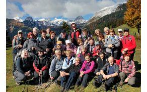 Sončki dobre volje na planini Uskovnici (foto Tatjana Rodošek)