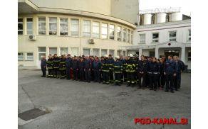 Skupno usposabljanje gasilcev GZ Goriške