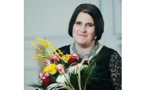 Sonja Pungertnik, prejemnica naziva Slovenka leta 2014