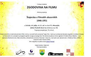 Vabilo Štajerska v Filmskih obzornikih