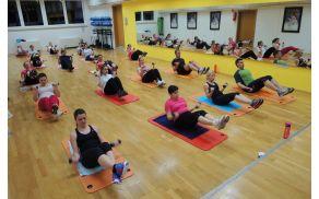 Skupinska vadba Metabolic Effect v OK fit centru
