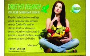 Povabilo k Društvu veganov celjsko-savinjske regije